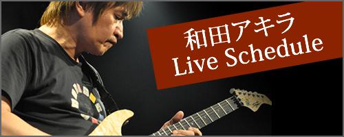 和田アキラ Live Schedule